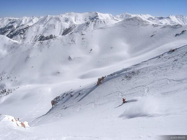 snowboarding, backcountry, San Juans, Colorado