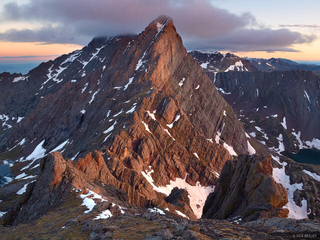 Crestone Needle, Broken Hand Peak, Sangre de Cristos, Colorado, Sangre de Cristo Wilderness