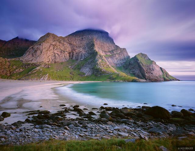 Bunes, Lofoten, beach, Norway, Moskenesøya