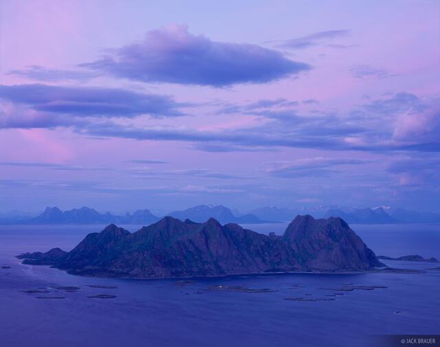 Litlmolla, Fløya, Svolvær, Lofoten Islands, Norway