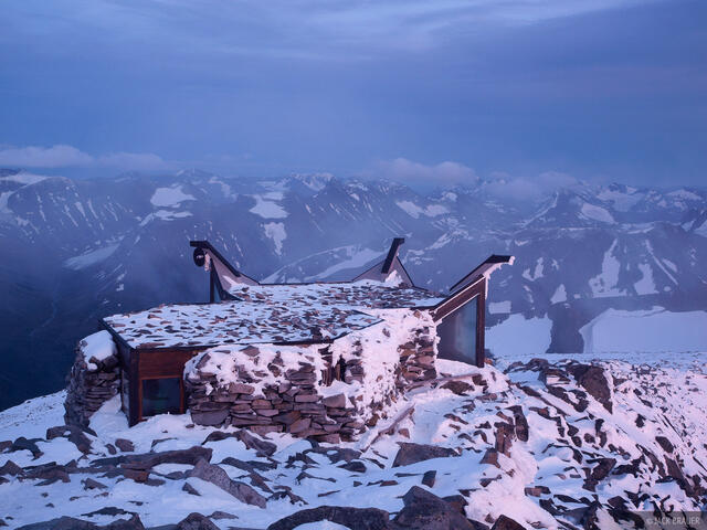 Galdhøpiggen, Jotunheimen, Norway, summit, hut