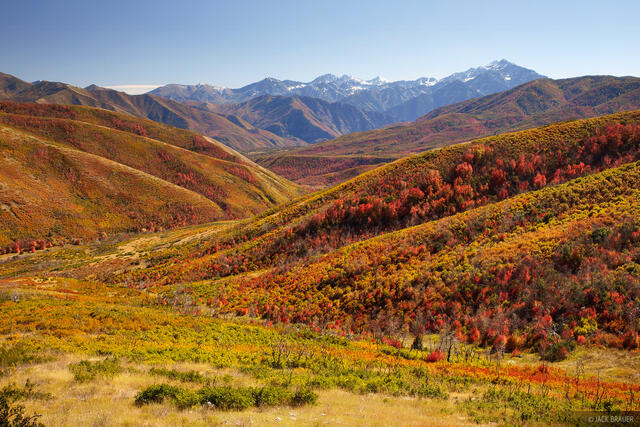 Wasatch, Utah, Cascade Springs, autumn
