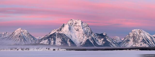 Mt. Moran Sunrise Panorama 1