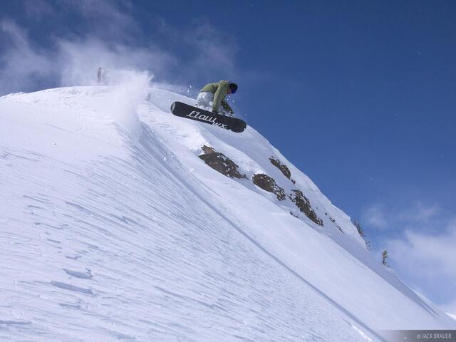 method, snowboarding, Jackson Hole, Wyoming