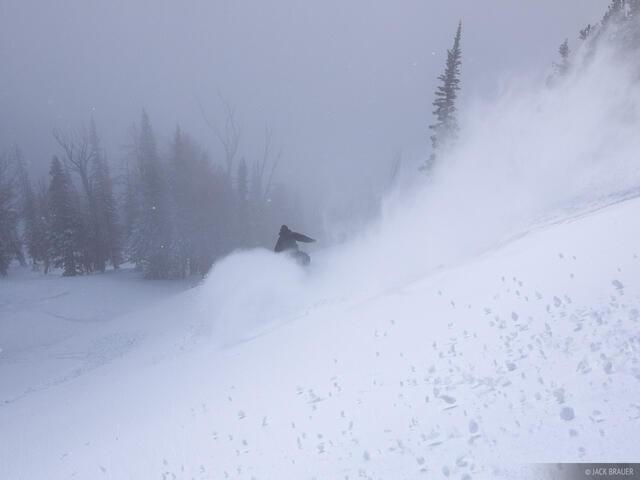 powder, snowboarding, Jackson Hole, Wyoming