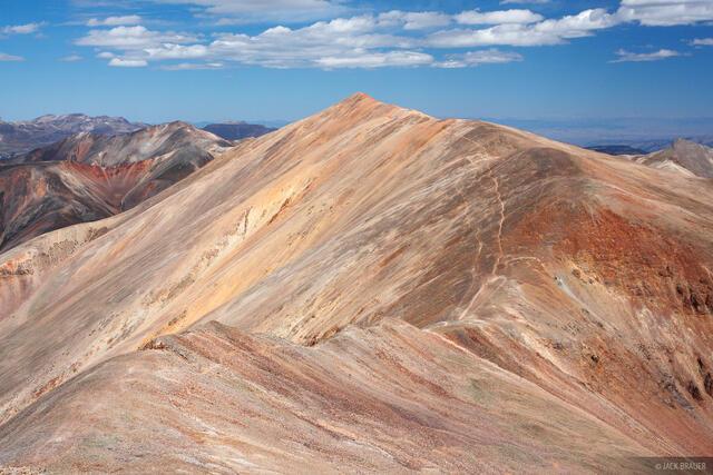 Redcloud Peak, Sunshine Peak, San Juan Mountains, Colorado, fourteener