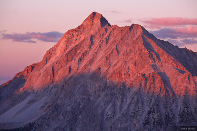 Capitol Peak, Elk Mountains, Colorado, Maroon Bells-Snowmass Wilderness