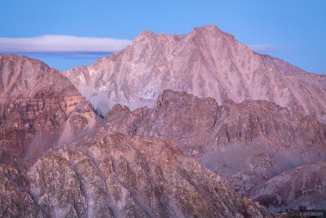 Colorado, Elk Mountains, Snowmass Mountain, 14er