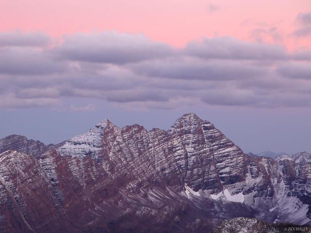 Maroon Bells, Elk Mountains, Colorado, fourteeners, Maroon Bells-Snowmass Wilderness