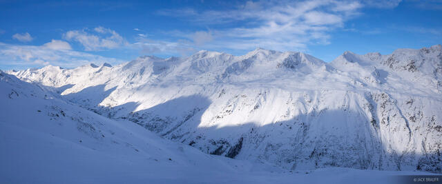 Obergurgl, Austria, December, winter, alps, europe, Ötztal Alps, panorama