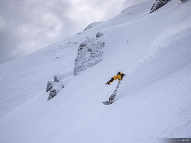 Laub, Engelberg, Switzerland, snowboarding