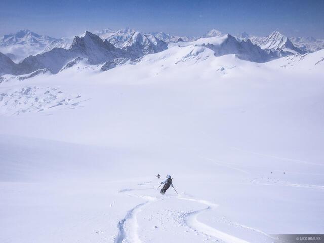 Skiing,