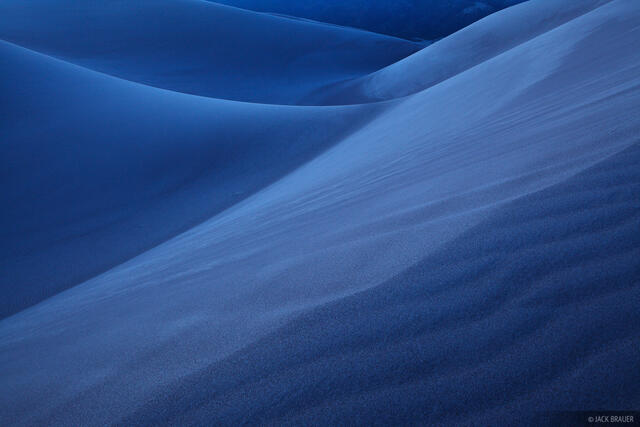 Blue, Great Sand Dunes, Colorado