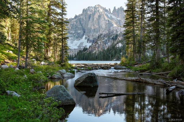 Baron Lake, Monte Verita, Sawtooth Mountains, Idaho