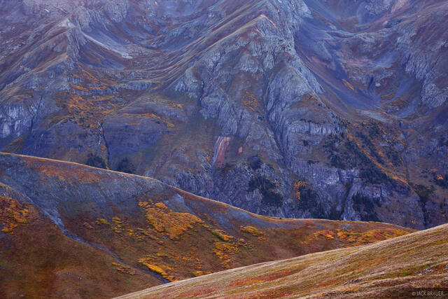 Silverton, Stony Pass, abstract, San Juan Mountains, Colorado