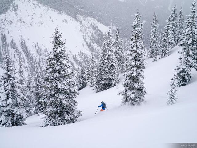 skiing, San Juan Mountains, Colorado, Jake Evans