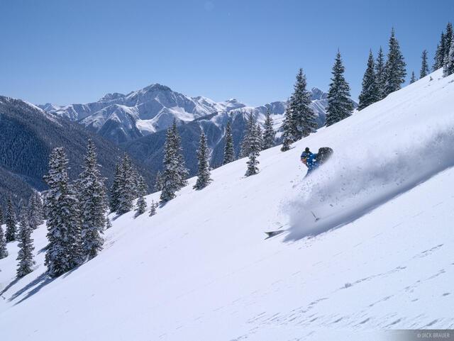 Red Mountain Pass, Sultan Mountain, ski, San Juan Mountains, Colorado