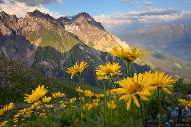 Lechtal Alps, Austria, Ansbacher H