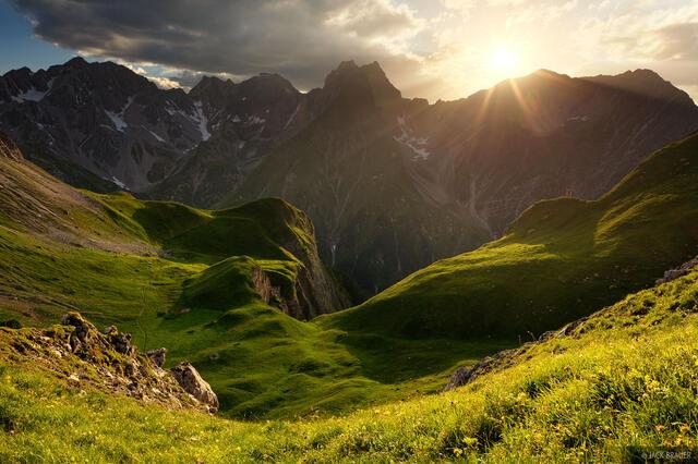 Lechtal Alps, Austria, Memminger H