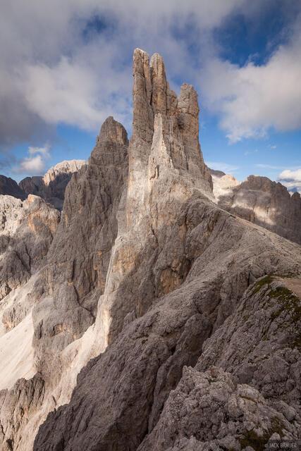 Dolomites,Italy,Rosengarten, Vajolet Towers