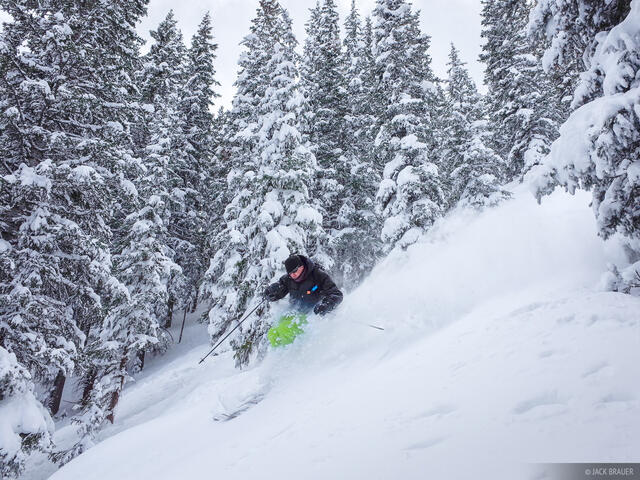 Scott Kennett, skiing, San Juan Mountains, Colorado