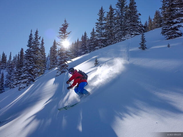 skiing, San Juan Mountains, Colorado, December