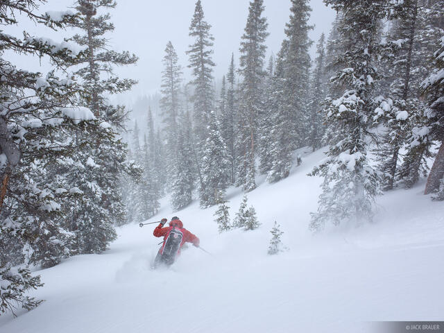 Colorado,San Juan Mountains, skiing