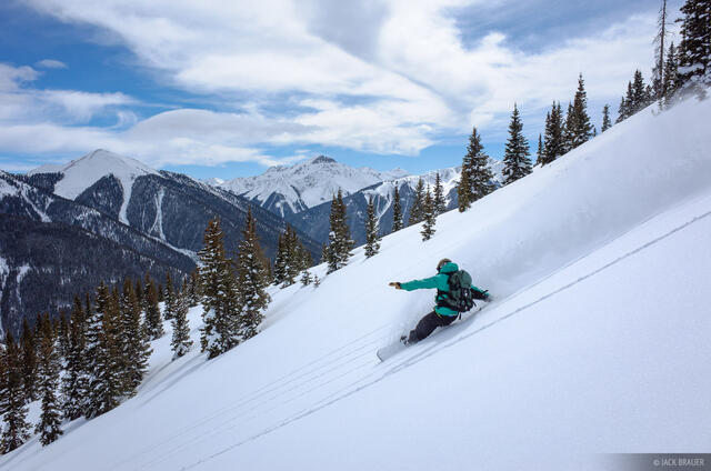 Colorado,Red Mountain Pass,San Juan Mountains, snowboarding