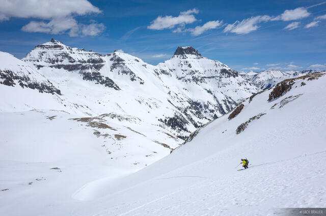 Colorado,Gilpin Peak,San Juan Mountains,Sneffels Range, skiing