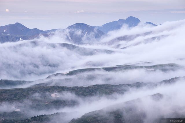 Colorado,San Juan Mountains,Stony Pass,Weminuche Wilderness, clouds