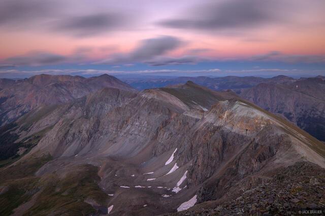 14er,Colorado,Handies Peak,San Juan Mountains, Sunshine Peak, Redcloud Peak