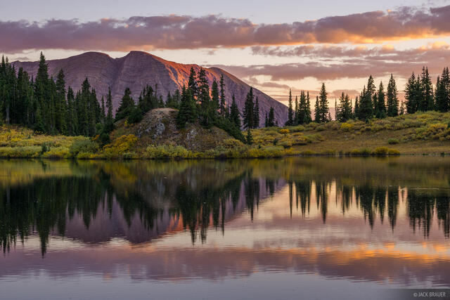 Colorado, Copper Lake, Elk Mountains, Maroon Bells-Snowmass Wilderness