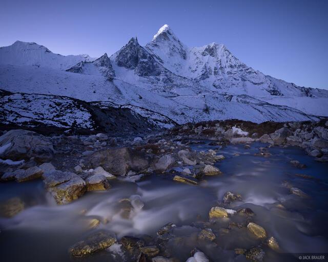 Ama Dablam,Asia,Himalaya,Khumbu,Nepal, Chhukhung