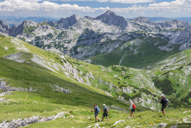 Maglič, hiking ,Maglic, Montenegro, Bosnia,Dinaric Alps