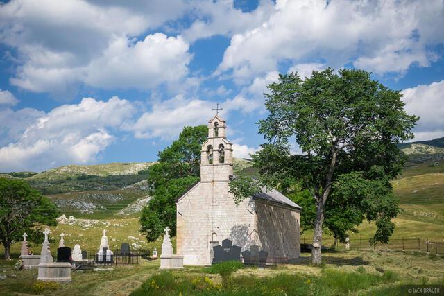 Durmitor,Europe,Montenegro, church