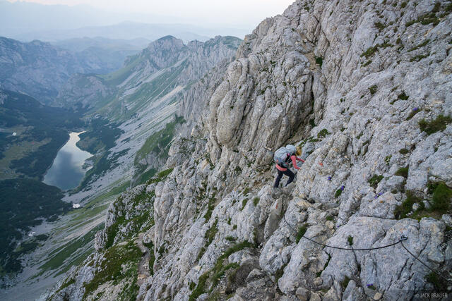 Bobotov Kuk, climbing, Durmitor, Montenegro