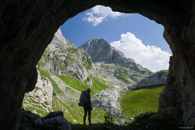 cave, hiking, Prokletije, Bjeshket e Nemuna