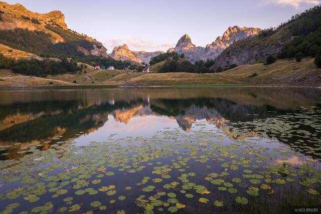 Bukumirsko Jezero,Dinaric Alps,Montenegro,Zijovo, Pasjak, reflection