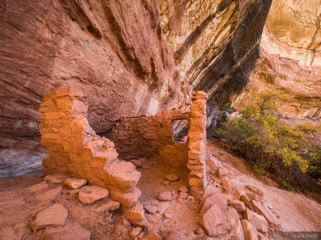 Natural Bridges National Monument, Utah, ruin, White Canyon, Ancestral Puebloan