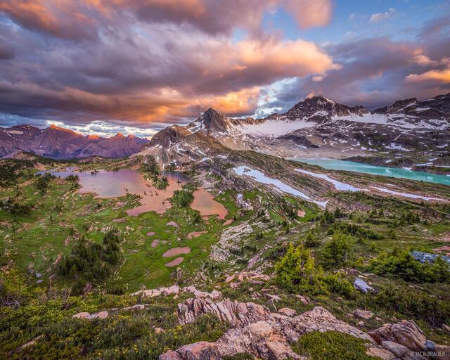 British Columbia, Canada, Canadian Rockies, Height of the Rockies, Limestone Lakes, BC