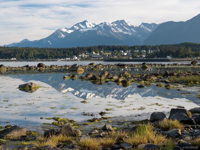 Alaska, Haines, Fort Seward, Chilkat Range