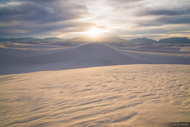 New Mexico, White Sands National Monument, Dunes