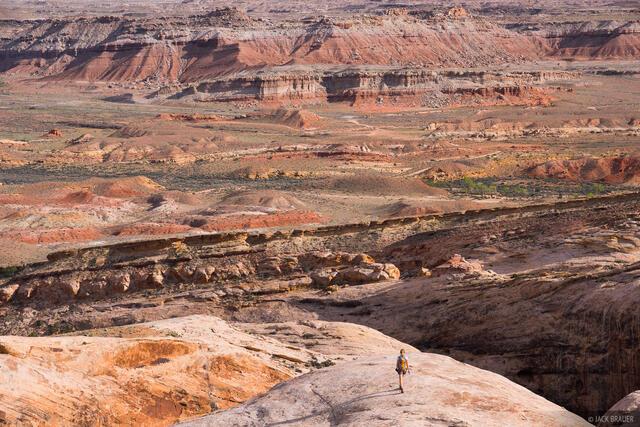 Dragon Sandstone, San Rafael Swell, Utah, hiking