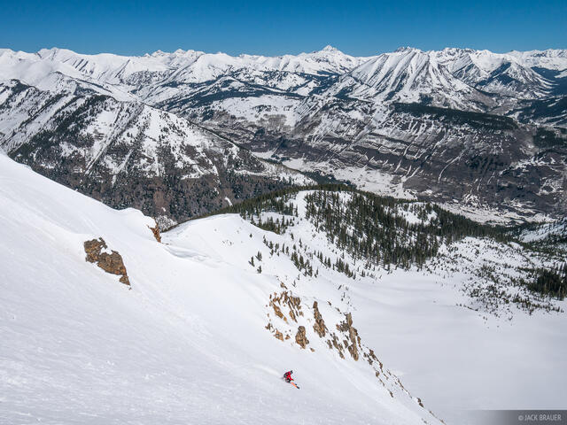 Colorado, Crested Butte, Mount Emmons, skiing, Wolverine Bowl