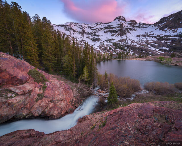 Dromedary Peak, Lake Florence, Twin Peaks Wilderness, Utah, Wasatch Range
