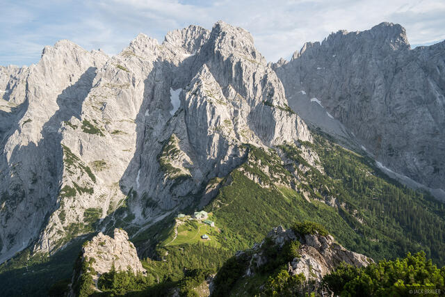 Austria, Kaisergebirge, Stripsenjochhaus, Stripsenkopf, Wilder Kaiser, hut