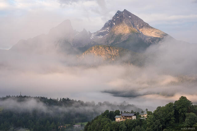 Berchtesgaden, Europe, Germany, Watzmann