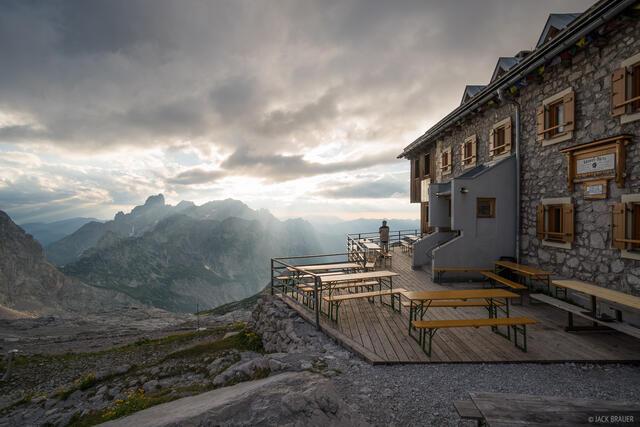Adamek-Hütte, Austria, Dachstein, Große-Bischofsmütze, hut