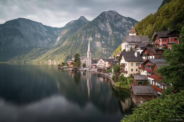 Austria, Dachstein, Hallstatt, reflection