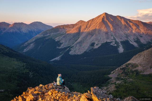 Collegiate Peaks Wilderness, Colorado, Huron Peak, Sawatch Range